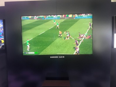 BT Sport staged a live 8K broadcast using a collection of borrowed equipment.