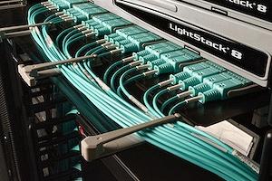 Base12 fiber installation.