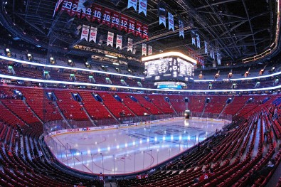 The Bell Arena, Montreal.