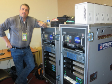 Bexel's Scott Nardelli was on hand at Super Bowl 50 with a new instant replay system, developed by Bexel, that includes next-generation features supporting the move to IP-based audio for communications and additional levels of redundancy.