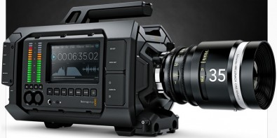 The Blackmagic URSA, which can shoot in 4K, 3K, 2K and HD.
