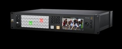 Blackmagic's new ATEM Constellation 8K is an UltraHD live production switcher with quad-split signal processing.