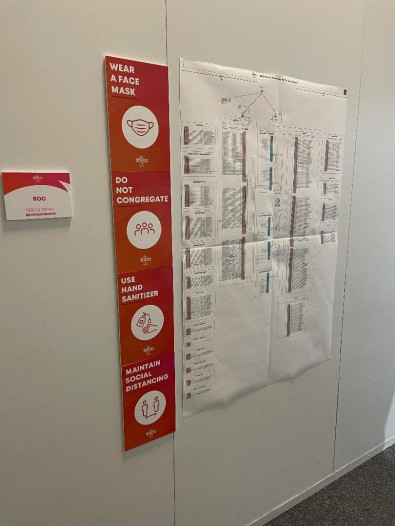 COVID rules added a layer of complexity when moving staff around.