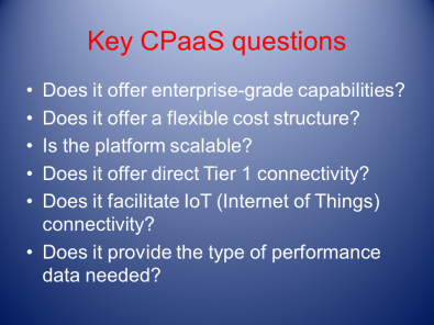 Some key topics to discuss with any cloud provider. Click to enlarge.