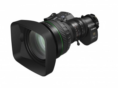 The CJ25ex7.6B portable zoom is suited to UHD HDR production.
