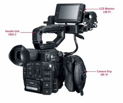 Figure 1: Canon C200. Click to enlarge.