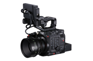 The EOS C300 Mark III features Canon's latest Super 35mm Dual Gain Output Sensor.