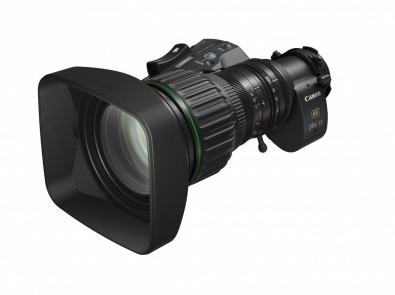 Canon CJ24ex7.5B IASE S 4K 2/3-type zoom. Shooting 4K, DOPs we must shoot as cleanly as possible in order to output the best HDR downstream from the NLE.