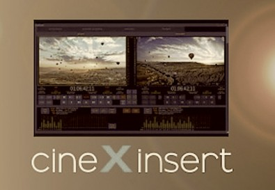 CineDeck's cineXinsert module can insert edit into a finished XDCAM master