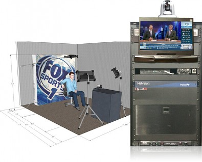 The Bexel ESS Crewless Studio is a self-contained, multi-purpose studio solution that provides the quality of a professional studio in a cost effective, compact and efficient form factor.