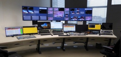 RTL City, in Luxemburg, includes several large Custom Consoles Module-R-based control desks to support the production and distribution of content.