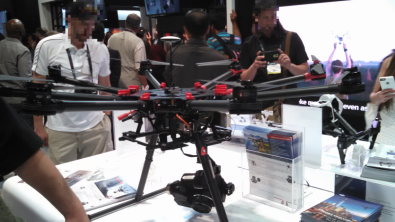 DJI Spreading Wings S900 Octocopter