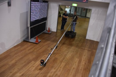 With the Z-Cam on a boom, viewers could choose the angles they wanted to see.