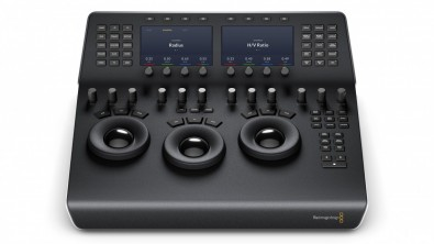 The new DaVinci Mini Panel can serve in dual use editing and grading bays.