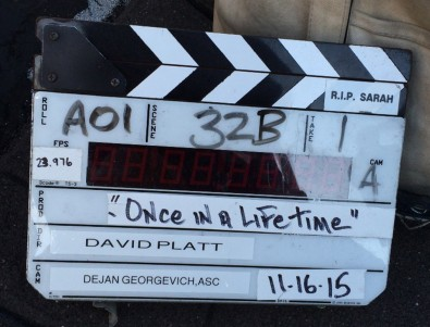Lifetime was directed by David Platt, with Executive Producer/Showrunner Joe Cacaci, Executive Producers Emily Segal and Ylfa Edelstein, Producer Samara Yeshaiek and a cast led by British actor Charlie Creed Miles as the middle-aged rocker with a full-blown midlife crisis.
