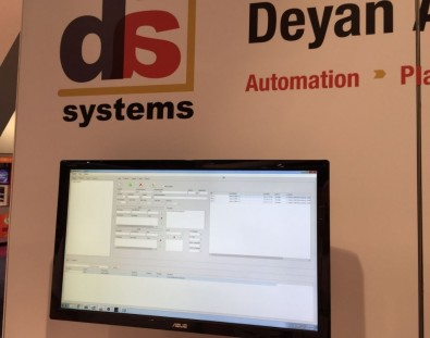 The Deyan exhibit showcased automated Master Control solutions.