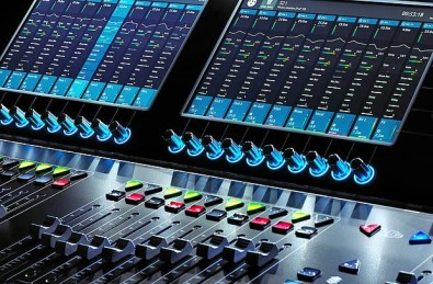 DiGiCo S21 Digital Mixer. Click to enlarge.