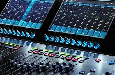 DiGiCo S21 Digital Mixer. Click to enlarge.