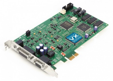 Digigram's VX222e card will be incorporated into ATC Labs' Perceptual SoundMax audio processors, which provide signal processing for broadcast or audio streaming.