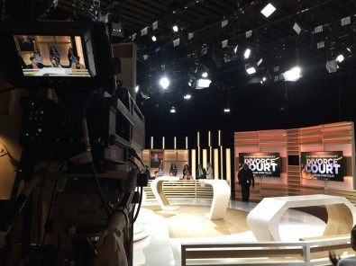 """Syndicated TV shows like """"Divorce Court,"""" produced by Lincolnwood Drive, Inc., are using the AK-UC4000 in HD mode for studio work."""