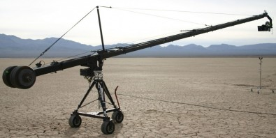 Jib in the desert.