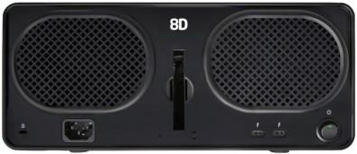 Drobo 8 rear panel
