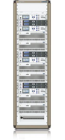 Egatel's WUWH4000 series wideband high efficiency UHF TV transmitter.