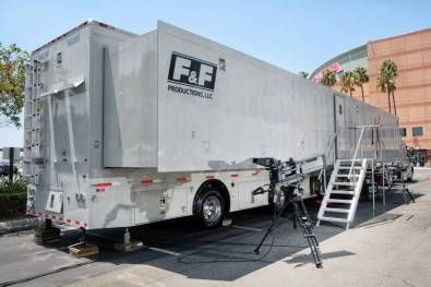 The new GTX-18 UHD truck includes a full complement of Sony HDC-4300 4K camera systems with Fujinon UHD lenses.