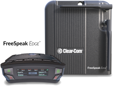 Clear-Com FreeSpeak Edge<sup>TM</sup>.