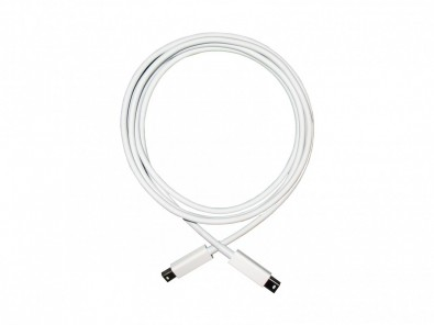 Apple OEM cables (reportedly manufactured by Monster) use heavy gauge conductors even in shorter lengths to ensure good connectivity.  One may gripe about the retail price of these cables (about £25) but the integrated stress relief is much better than that typically found on less expensive or generic cables.<br />