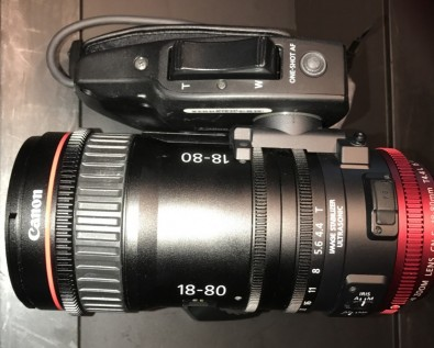Figure 4: Canon 18-80mm Compact Zoom.