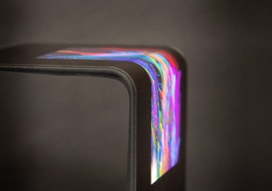 One supplier, UK-based FlexEnable, has designed a new type of material that can replace glass in electronic displays.