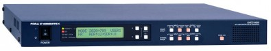 The LMCC-8000 8K/4K linear matrix color converter provides high-quality frame rate and format conversion for HD/3G/4K UHD signals.