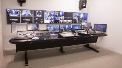 "The Washington Post's Video department has installed a ""low profile"" MasterVision console from Forecast Consoles."