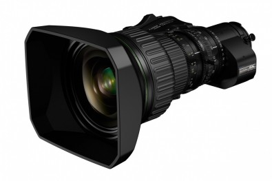 The Fujinon UA24x7.8BERD 4K 2/3-type zoom. The latest HDR 2/3-type zooms from Fujifilm and Canon capture clean crisp 4K images with excellent contrast to the corners of the frame.