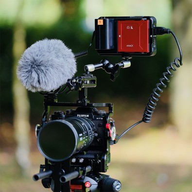 Atomos Ninja V mounted on the Fujifilm X-T3.