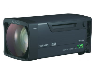 The Fujinon UA-125X8BESM is currently the largest zoom ratio lens on the market, but it also starts out at the widest angle (8 mm) of any long sports box lens.