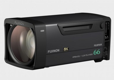 The new Fujinon HP66X15.2ESM (HP66X15.2) box lens provides the world's longest 8K focal length of 1,000mm while also featuring the world's highest zoom magnification of 66x.