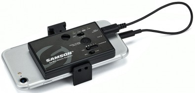 Samson Go Mic Mobile wireless system. Click to enlarge.