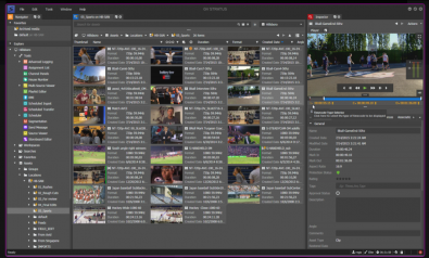 Grass Valley's Stratus provides a set of production tools in one application while also allowing the user to better manage media workflows in order to stay competitive.