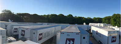 Up to a dozen Game Creek Video mobile production units will be on hand in Miami.