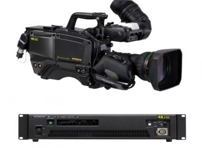 The Hitachi SK-UHD4000 is based on the existing SK-HD1500 super motion camera