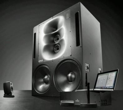 Genelec Master Series loudspeaker system.