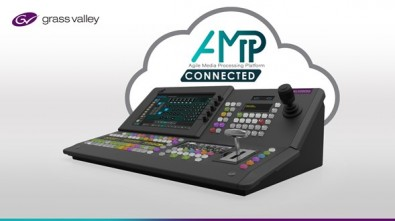 An AMPP-connected K-Frame switcher scales to as many instances as required without upfront buildout and deliver flexible I/O with access to any source.
