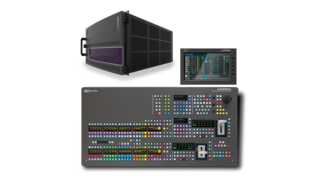 The Karrera K-Frame S-series offers WAPA-TV operators multiformat support and a full range of features in a compact 6 RU video frame.