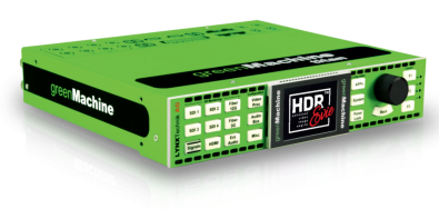 The greenMachine multipurpose 4K/UHD or 3G/HD/SD quad channel video and audio processing platform.