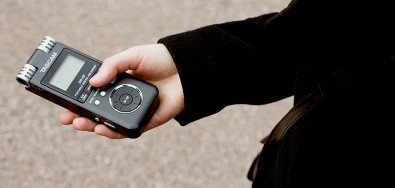 Small and portable stereo audio recorders are a 'must-have' for any audio-for-video recording project.