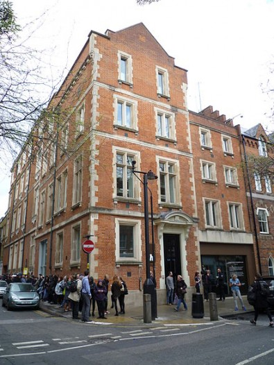 The Hospital Club is based in the Covent Garden area of central London in what was St Paul's Hospital.