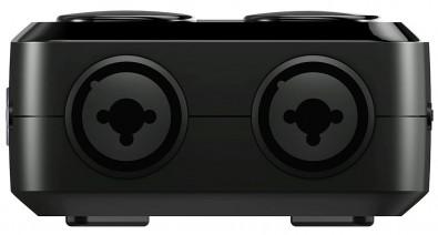 XLR connectors on iRig Pro DUO