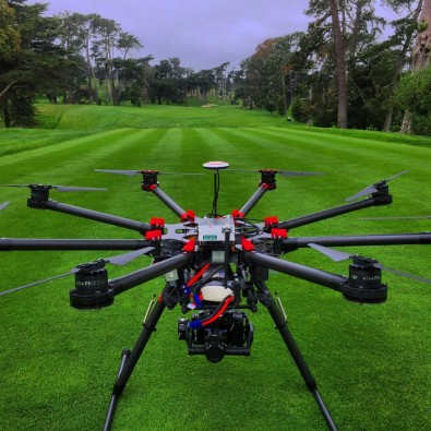 HeliVideo provided two drones with pilots and observers to staff the FOX Sports channel golf coverage.